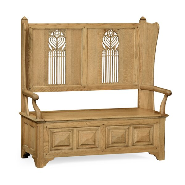 Settle with Storage by Jonathan Charles Fine Furniture