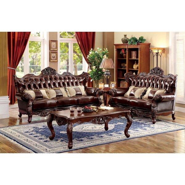 Rommel 3 Piece Living Room Set by Astoria Grand