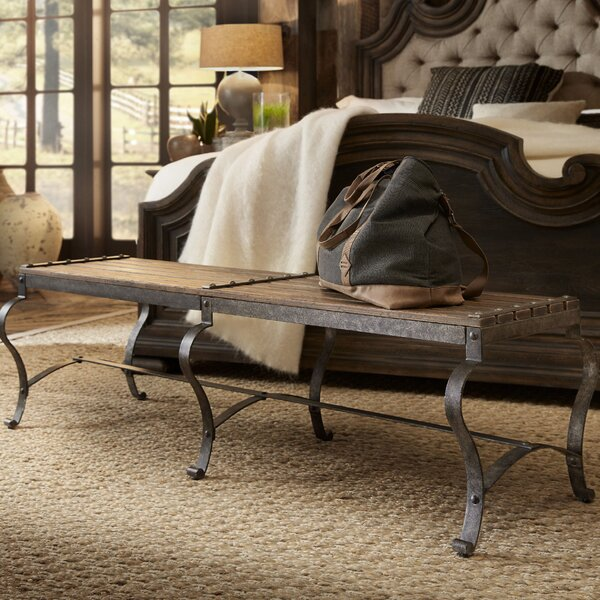 Hill Country Metal Bench by Hooker Furniture
