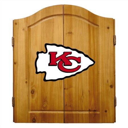 NFL Team Logo Complete Dart Cabinet Set by Imperia