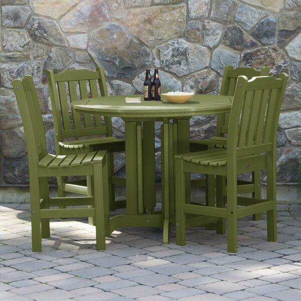 Cassell 5 Piece Dining Set by Three Posts