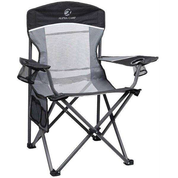 Reclining Folding Camping Chair by Alpha Camp Alpha Camp