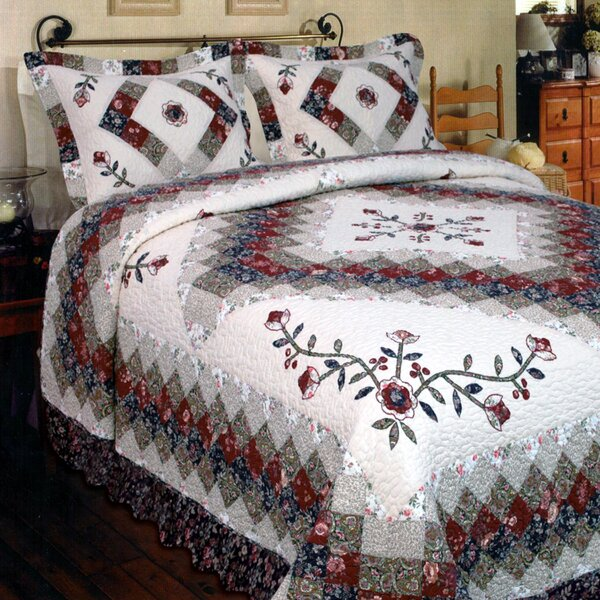 Calmaberry Single Reversible Quilt by August Grove