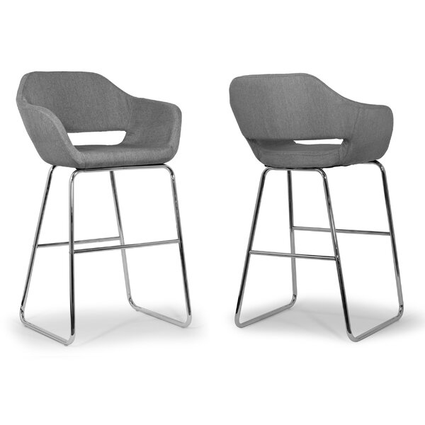 28 Bar Stool (Set of 2) by Glamour Home Decor