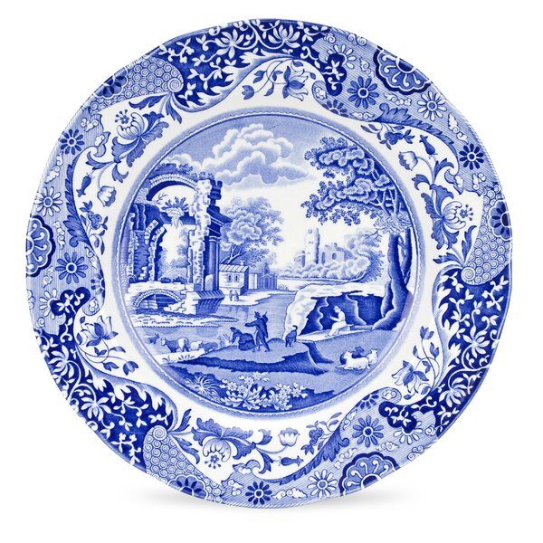 Blue Italian 10.5 Dinner Plate (Set of 4) by Spode