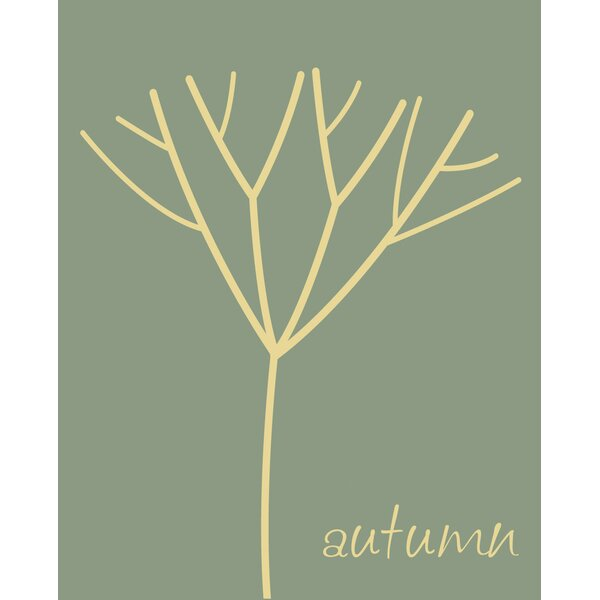 Autumn Tree Canvas Art by Secretly Designed