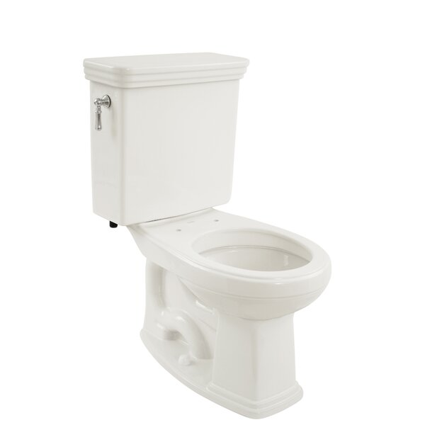 Promenade Eco 1.28 GPF Round Two-Piece Toilet by Toto