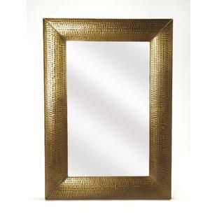 Bloomsbury Market Shaunna Hammered Wall Mirror