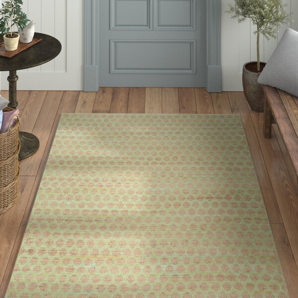 Montfort Green / Natural Area Rug by Laurel Foundry Modern Farmhouse