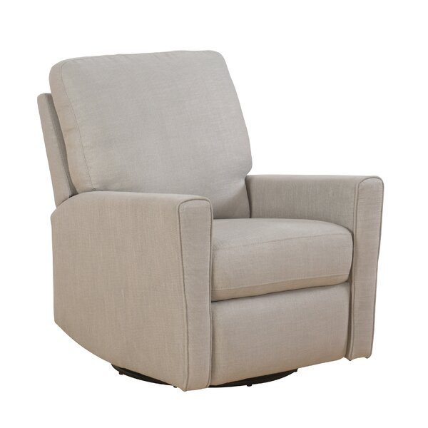 Wilcoxon Manual Swivel Glider Recliner by Darby Home Co