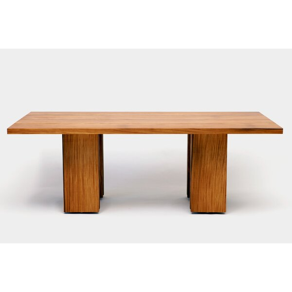 Occidental Outdoor Solid Wood Dining Table by ARTLESS ARTLESS