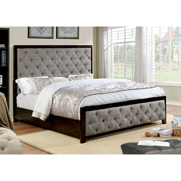 Kansas Upholstered Standard Bed by Rosdorf Park