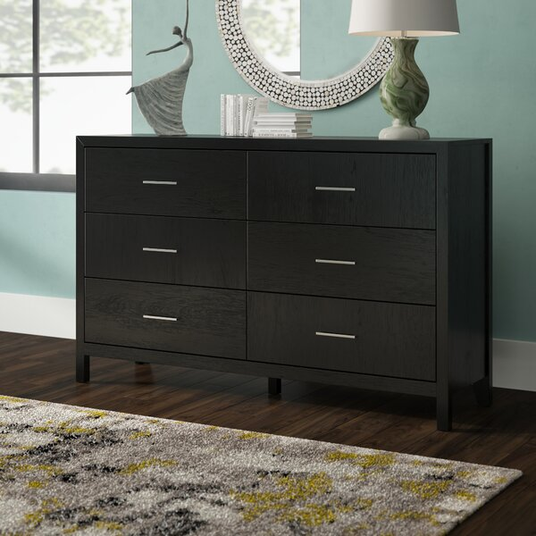 Debary 6 Drawer Double Dresser by Brayden Studio