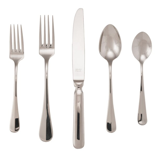 Heiss 20 Piece Flatware Set by Red Barrel Studio