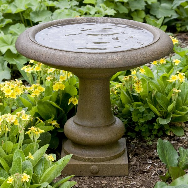 Williamsburg Summer House Birdbath by Campania International