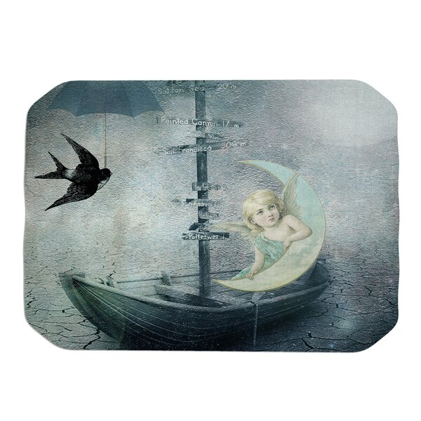 Rain Placemat by KESS InHouse