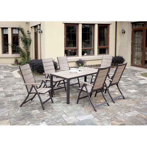7 Piece Dining Set by JB Patio