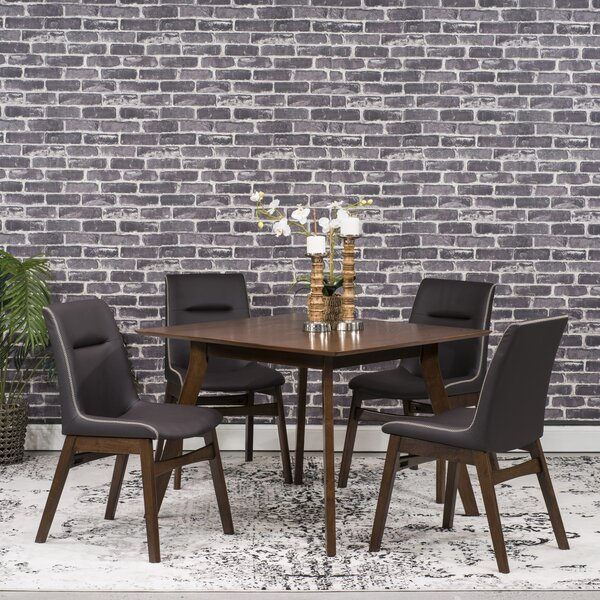 Phyllis 5 Piece Dining Set by Wrought Studio