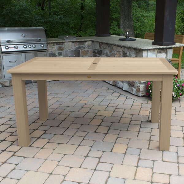 Charpentier Plastic/Resin Dining Table by Longshore Tides