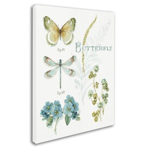 'My Greenhouse Botanical I' Graphic Art Print on Wrapped Canvas by Trademark Fine Art