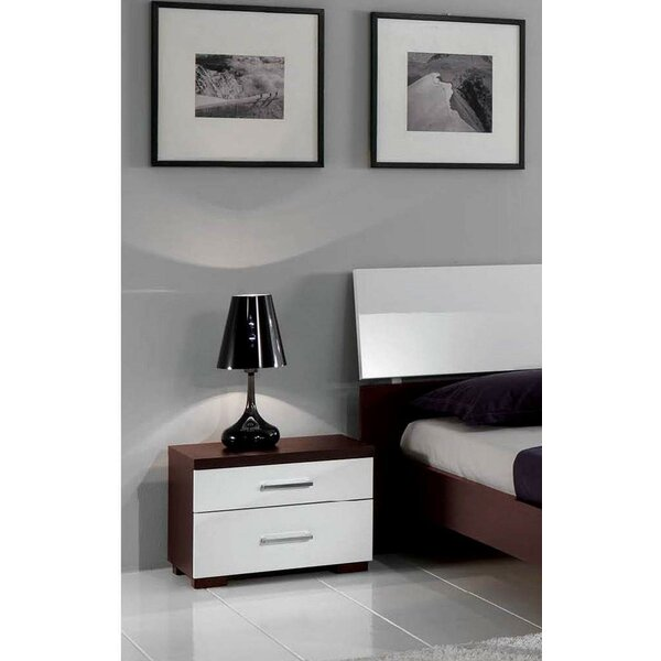 Beckworth 2 Drawer Nightstand by Ivy Bronx