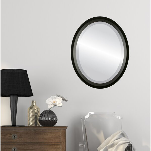 Meigs Framed Oval Accent Mirror by Winston Porter