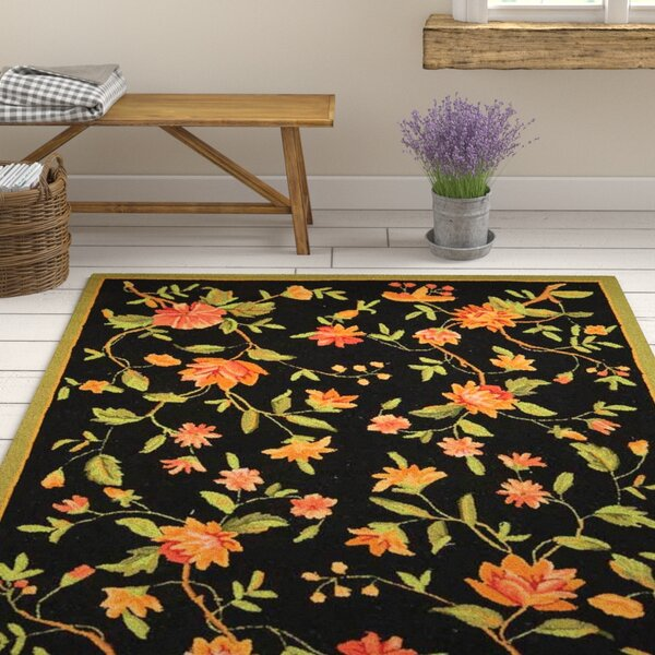 Kinchen Floral Area Rug by August Grove