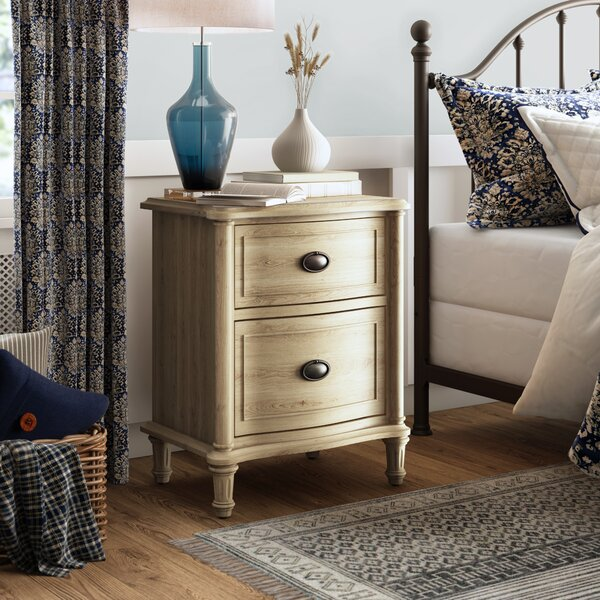 Watson 2 Drawer Nightstand by Birch Lane™ Heritage