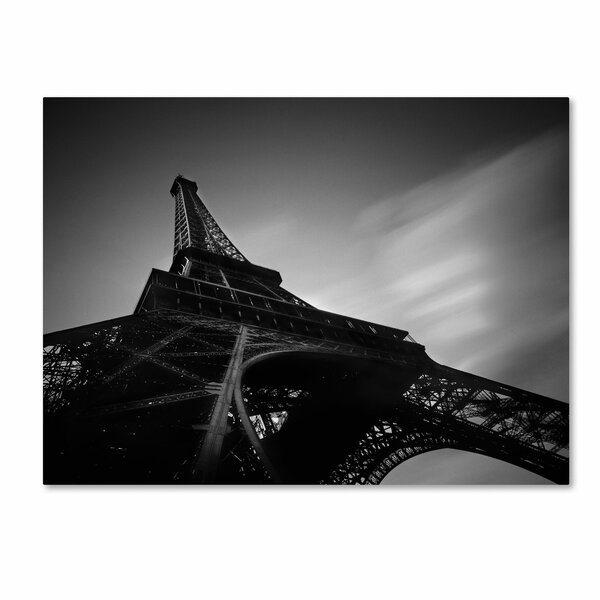 Eiffel 1 by Moises Levy Photographic Print on Wrapped Canvas by Trademark Fine Art