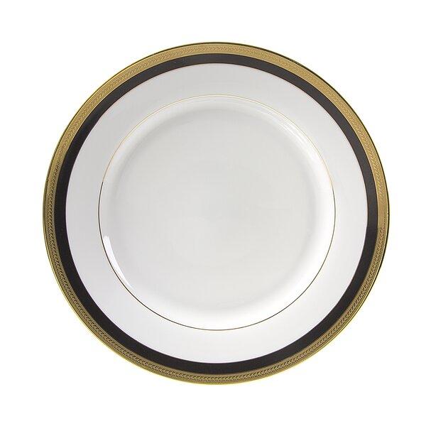 Sahara Black 10.625 Dinner Plate (Set of 6) by Ten