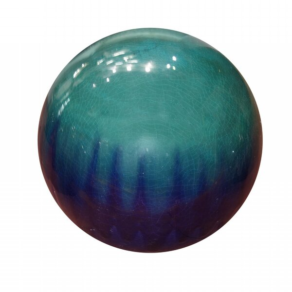 Ceramic Gazing Globe by Alpine