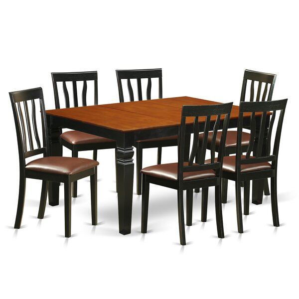 Arenzville 7 Piece Dining Set by Darby Home Co