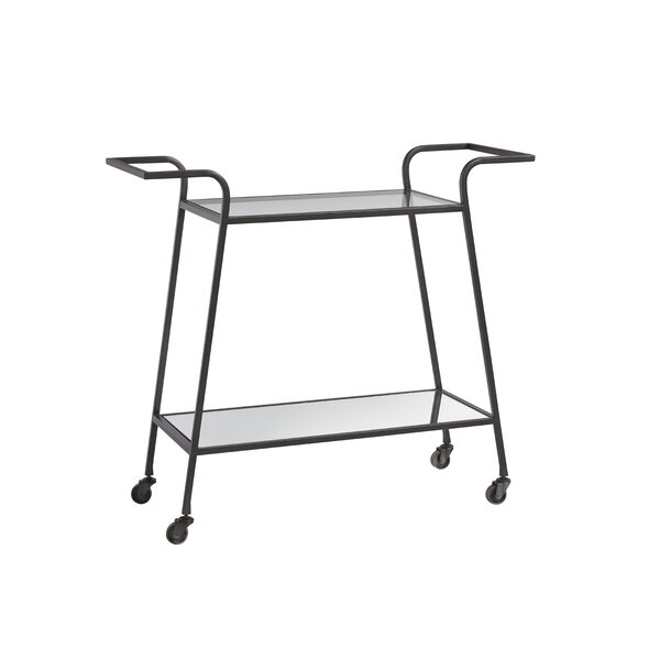 Natosha Bar Cart by Latitude Run