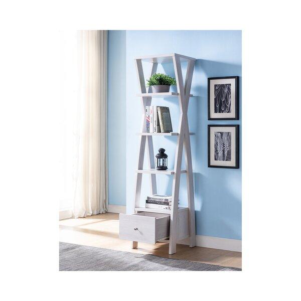 Delonge 5-Shelf Display Standard Bookcase By Gracie Oaks