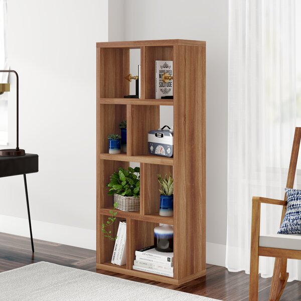 Varga 4 Level Geometric Bookcase By Latitude Run