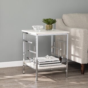 Freston End Table with Storage by Mercer41