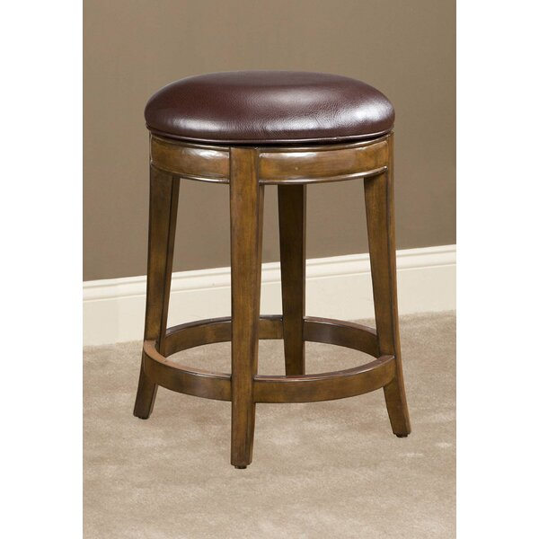 Coren Swivel Bar Stool by Winston Porter