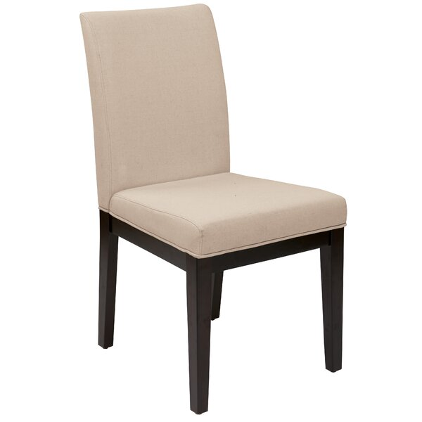 Elvie Side Chair in Beige by Willa Arlo Interiors