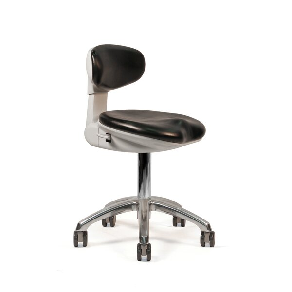 Height Adjustable Modern with Backrest by ErgoLab