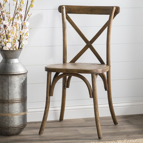 Littleton Cross Back Weathered Style Chair by Trent Austin Design