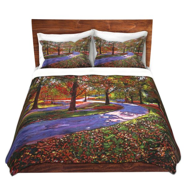 Marasco David Lloyd Glover Road Lake Microfiber Duvet Covers by Red Barrel Studio