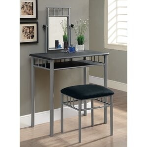 Lyndsey Vanity Set with Mirror by Zipcode Design