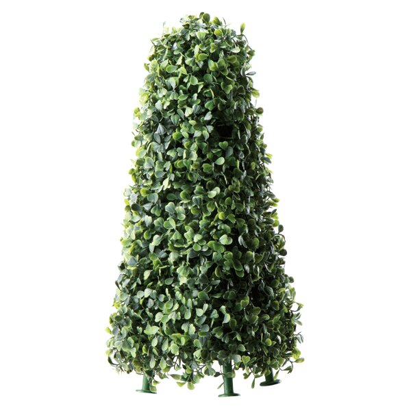 Faux Boxwood Obelisk Hedge by BIDKhome
