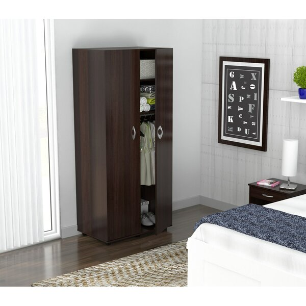 Georgii Melamine Engineered Wood Armoire by Latitude Run
