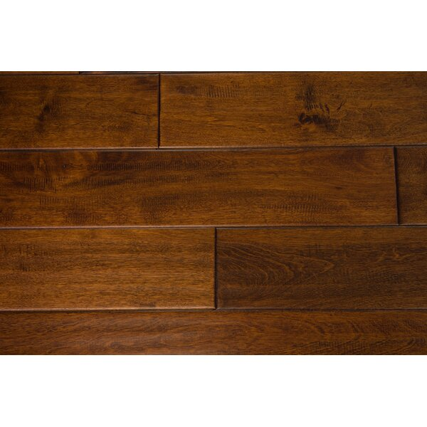 Thames 5 Solid Birch Hardwood Flooring in Caramel by Branton Flooring Collection
