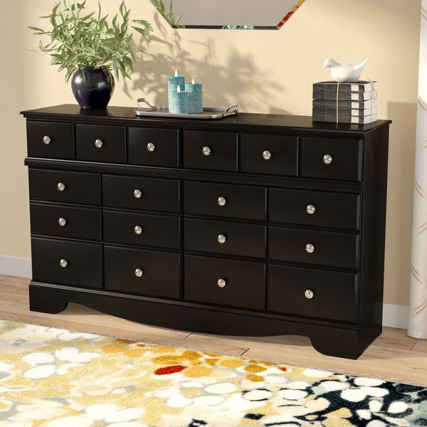 Chittum 6 Drawer Double Dresser by Charlton Home