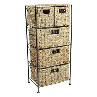 5 Drawer Storage Unit  sc 1 st  Wayfair & Wicker Drawer Storage Units   Wayfair.co.uk