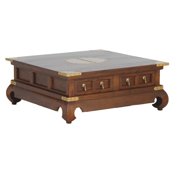 Becky Fine Hand-crafted Coffee Table by Bloomsbury Market
