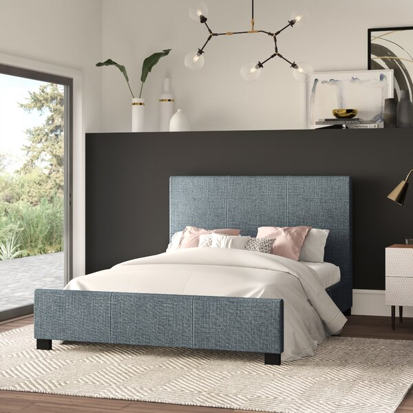 Nordquist Upholstered Platform Bed by Mercury Row