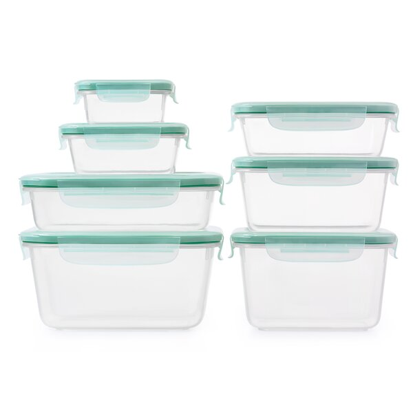 Good Grips SNAP Plastic 8 Container Food Storage Set by OXO